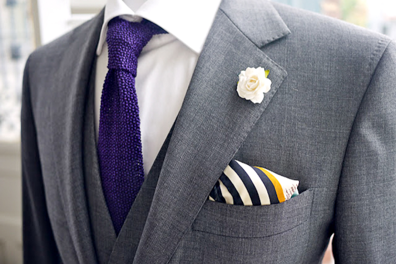 Style post ties for grooms jenny sun photography blog for Charcoal suit shirt tie combinations